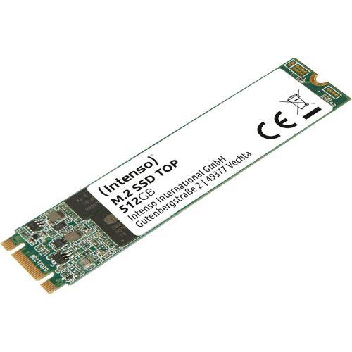 Intenso »M.2 SSD Top« SSD-Festplatte (512 GB) 520 MB/S Lesegeschwindigkeit, 500 MB/S Schreibgeschwindigkeit)