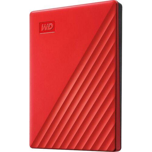 WD »My Passport 2019« externe HDD-Festplatte (2 TB), rot