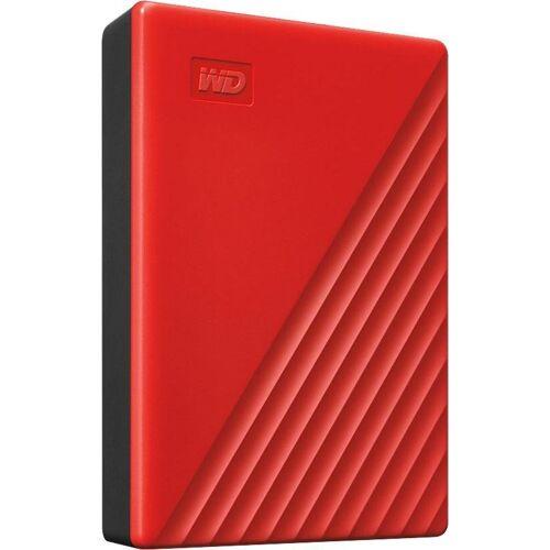 WD »My Passport 2019« externe HDD-Festplatte (4 TB), rot