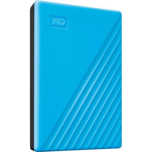 WD »My Passport 2019« externe HDD-Festplatte (2 TB), blau