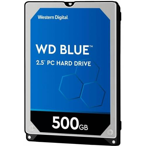 "Western Digital »WD Blue Mobile« HDD-Notebook-Festplatte 2,5"" (500 GB)"