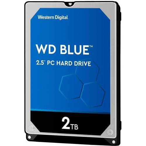 "Western Digital »WD Blue Mobile« HDD-Notebook-Festplatte 2,5"" (2 TB)"