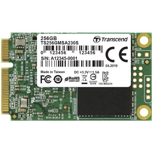 """Transcend »230S 256 GB mSATA, SATA 6 Gb/s, mSATA« SSD Steckkarte"""" (256 GB)"""