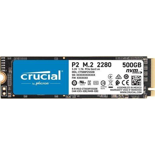 Crucial »P2 M.2 2280 PCIe 3.0 x 4 SSD 500GB« SSD-Festplatte
