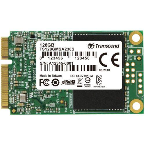 """Transcend »230S 128 GB mSATA, SATA 6 Gb/s, mSATA« SSD Steckkarte"""" (128 GB)"""