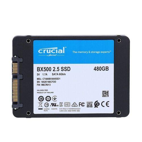 Crucial »BX500 SSD 480GB 2,5 Zoll int. Festplatte« SSD-Festplatte