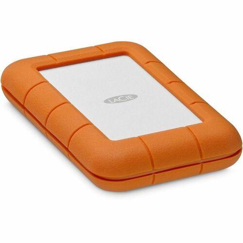 LaCie »Rugged SECURE 2TB USB-C ext. Festplatte orange« externe HDD-Festplatte