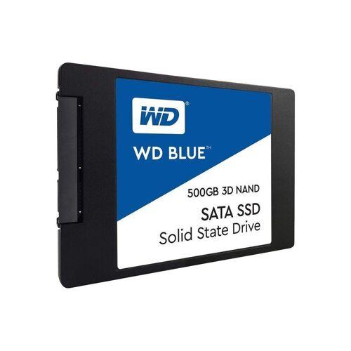 Western Digital »WD Blue SSD 500GB 3D NAND 2,5 Zoll int. Festplatte« SSD-Festplatte