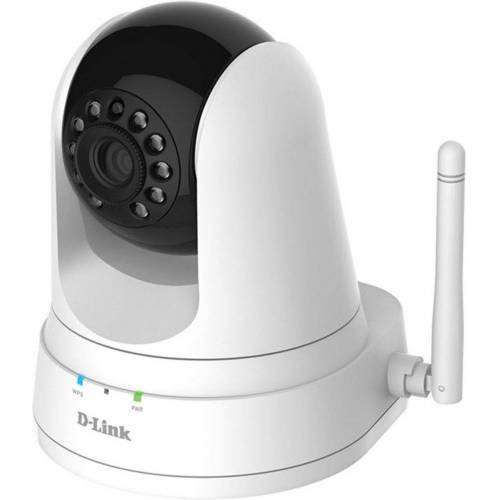D-Link Ip-Kamera »DCS-5000L/E Wireless N Tag&Nacht Pan&Tilt Camera«, Weiß