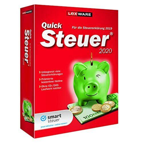 Lexware QuickSteuer »2020«, rot