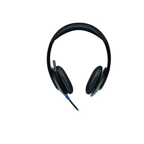 Logitech H540 USB Computer Headset »HD-Klangqualität«, schwarz