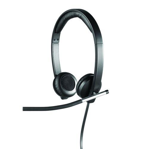 Logitech H650e USB Headset »professionelles Headset«, schwarz