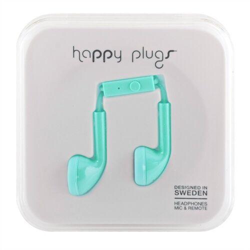 Happy Plugs »iPhone Headset in türkis« Smartphone-Headset