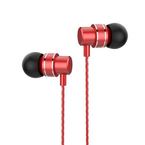 Lenovo »HF118 schwarz« In-Ear-Kopfhörer, rot
