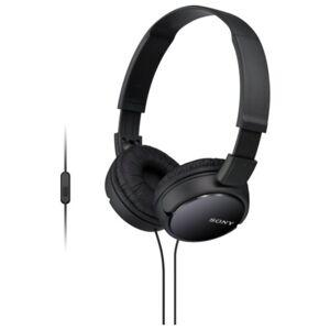Sony Headset »Faltbarer Kopfhörer mit Headsetfunktion«, Schwarz