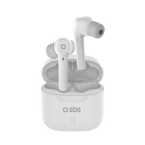 sbs »Bluetooth Kopfhörer - Wireless in Ear Kopfhörer weiß mit Touch-Steuerung für Anrufe & Musik, Ladebox, Bluetooth 5.0« wireless In-Ear-Kopfhörer
