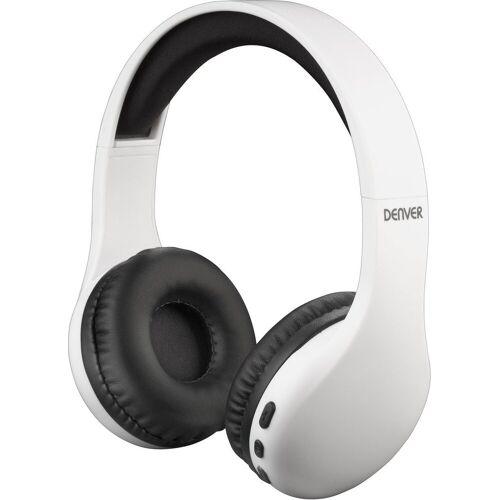 Denver Kopfhörer »BTH-240 Bluetooth Kopfhörer«, Weiß