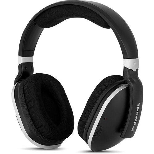TechniSat »StereoMan 2 Funkkopfhörer schwarz/silber« Kopfhörer