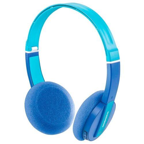 Thomson »Kinder-Kopfhörer Bluetooth Headset Wireless 85 DB Begrenzung Mikrofon Kids Headphones für Musik Lernen Hörspiel« Kinder-Kopfhörer (Bluetooth, Headset mit Mikrofon, wireless, Bluetooth + EDR), Blau