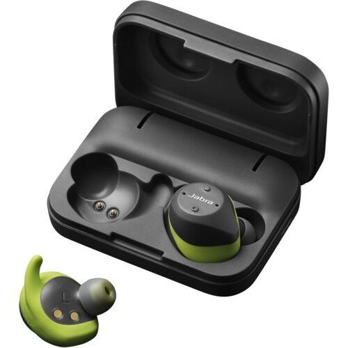 Jabra True Wireless Stereo in-Ear Sport-Kopfhörer »Elite Sport«, Grau-Grün