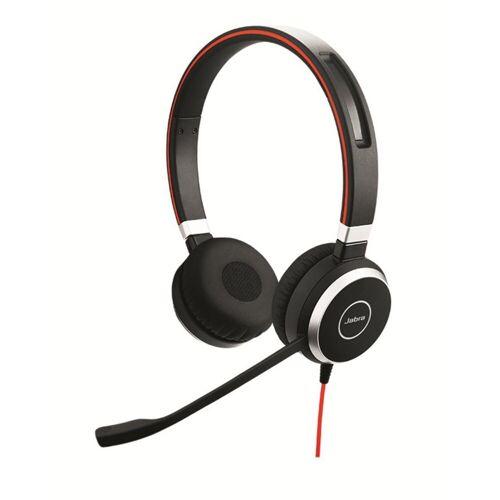 Jabra Professionelles VoIP-Softphone Stereo Headset »Evolve 40«, Schwarz