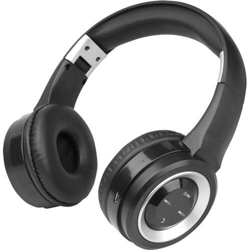 fontastic Headset »Bluetooth On-Ear Kopfhörer Boom«, Silber-Schwarz