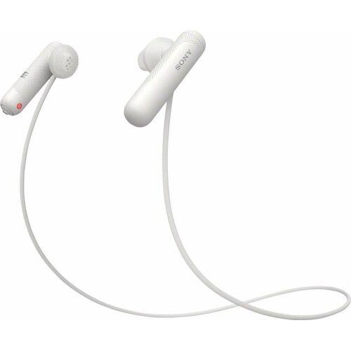 Sony »WI-SP500« Sport-Kopfhörer (IPX4 wasserfest, bis zu 8 Stunden Akkulaufzeit), weiß