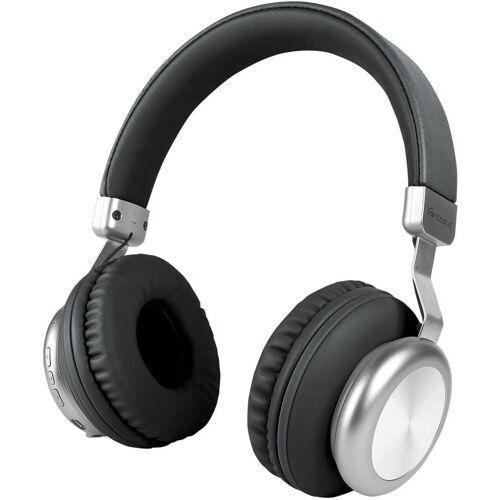 fontastic Headset »Drahtloser On-Ear Kopfhörer BaXx«, Schwarz-Silber