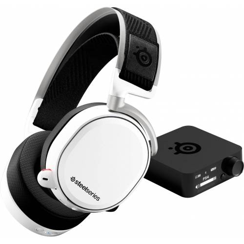 SteelSeries »Arctis Pro Wireless White« Gaming-Headset, weiß