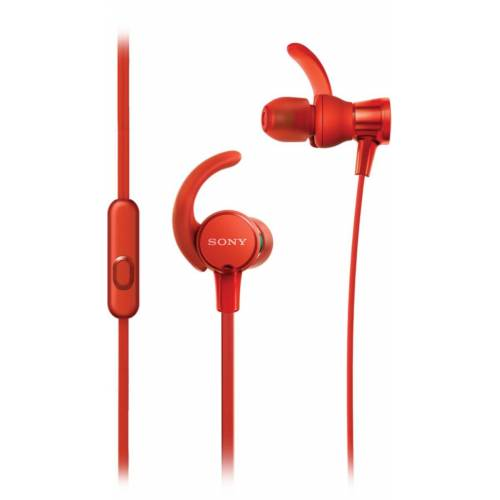Sony Headset »In-Ear-Sportkopfhörer MDR-XB510AS«, Rot