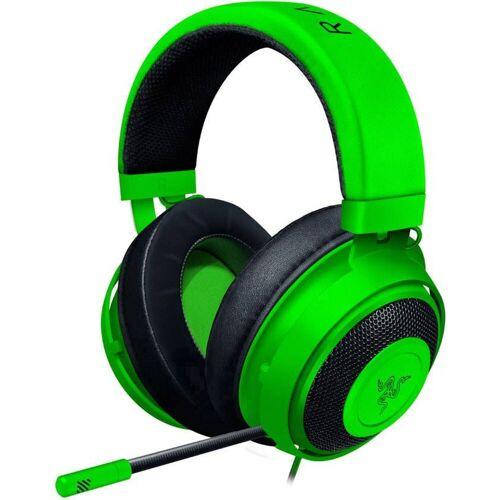Razer Kraken Gaming Headset »Mit Kältegel Gefüllte Ohrpolster«, grün