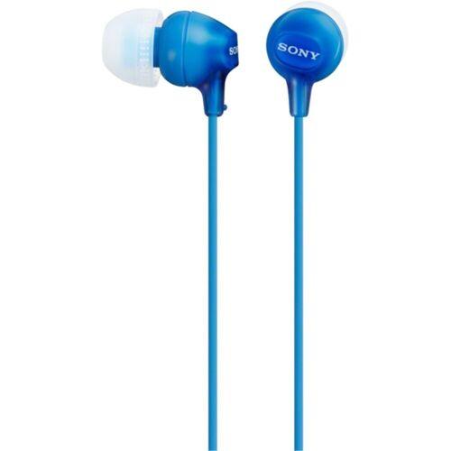 Sony Kopfhörer »In-Ear Kopfhörer MDR-EX15LP«, Blau