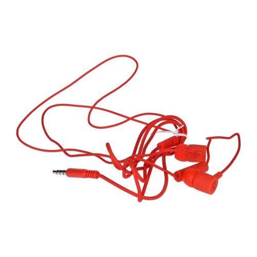 exquisit »Stereo Kopfhörer Headset In Ear 3,5mm Klinke in rot« Stereo-Headset