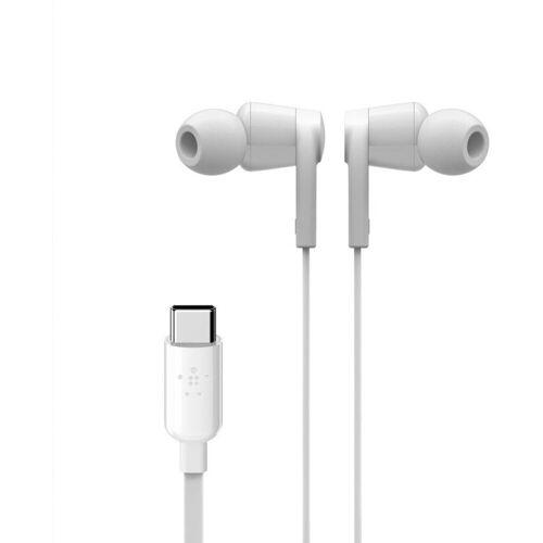 Belkin Headset »Rockstar In-Ear Kopfhörer mit USB-C-Stecker«, Weiß