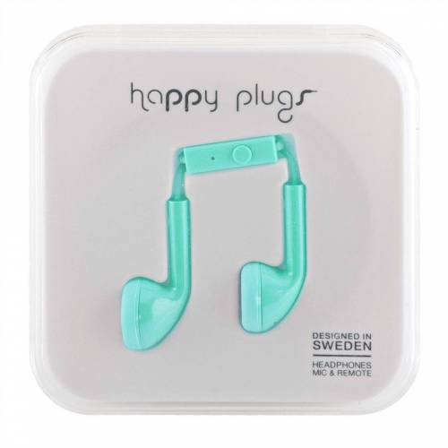 Happy Plugs »iPhone Headset in türkis« Smartphone-Headset