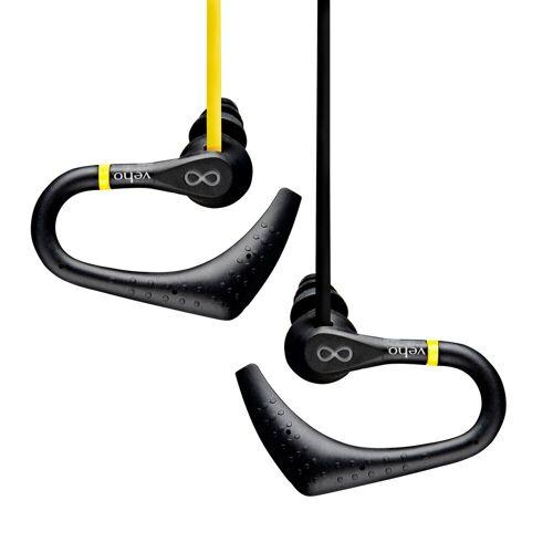 VEHO »ZS-2 Wasserresistente Sport-Kopfhörer« Kopfhörer (Wasserresistente Sport-Kopfhörer, Rutschfest)
