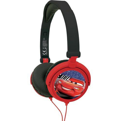 Lexibook® »Cars Kopfhörer« Kinder-Kopfhörer, rot-kombi