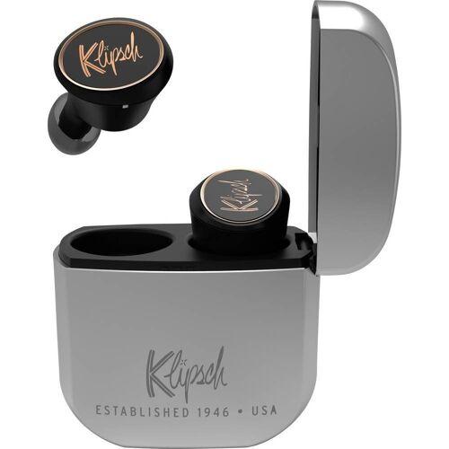 Klipsch »T5 True Wireless IE Headphones black/silver, Bluetooth, In Ear Kopfhörer« Kopfhörer