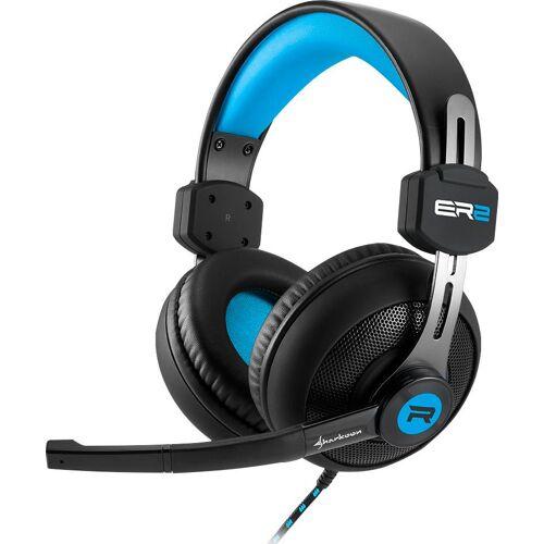 Sharkoon Gaming-Headset, blau