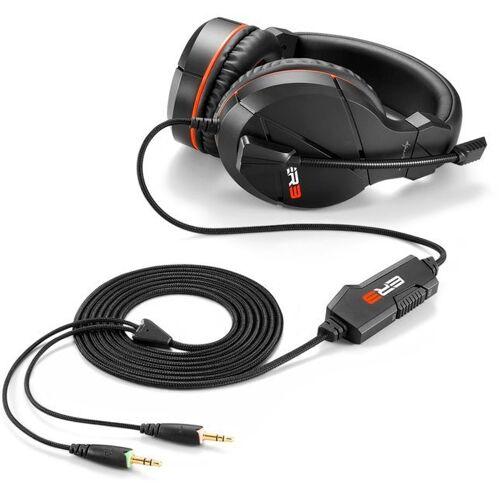 Sharkoon Gaming-Headset, rot