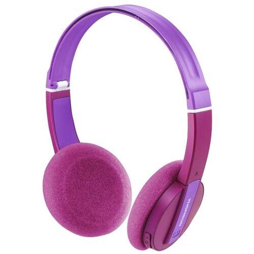 Thomson »Kinder-Kopfhörer Bluetooth Headset Wireless 85 DB Begrenzung Mikrofon Kids Headphones für Musik Lernen Hörspiel« Kinder-Kopfhörer (Bluetooth, Headset mit Mikrofon, wireless, Bluetooth + EDR), Pink