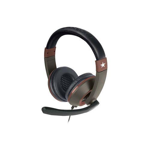 BigBen Spielekonsolen-Zubehörset »Stereo Headset XH-100 Wired, Military Edition«