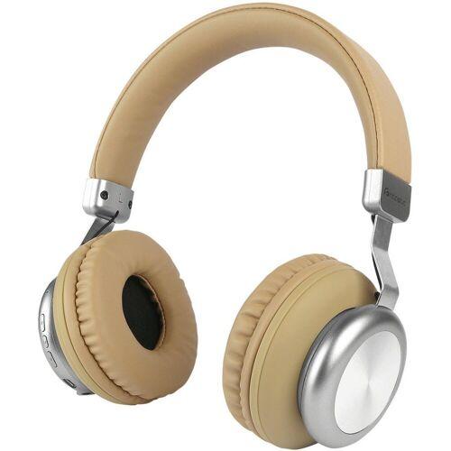 fontastic Headset »Drahtloser On-Ear Kopfhörer BaXx«, Beige-Silber