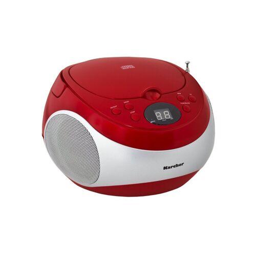 "Karcher tragbares CD-Radio »RR 5020-R ""Cobold""«, Rot"