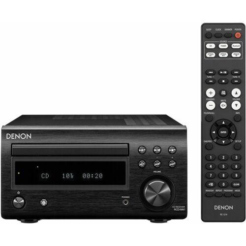 Denon »RCD-M41DAB« CD-Player (FM-Tuner mit RDS), schwarz
