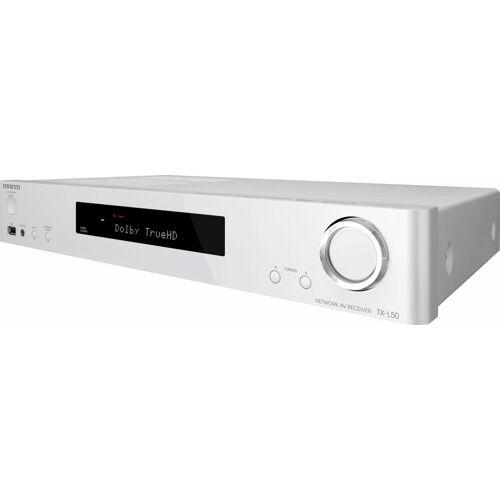 Onkyo »TX-L50« 6 AV-Receiver (WLAN, Bluetooth, DTS-HD Master Audio), weiß