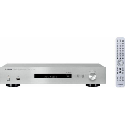 Yamaha »NP-S303« Netzwerkplayer (Internetradio), silberfarben