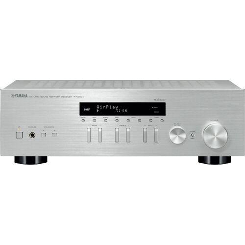 Yamaha »R-N303D« Netzwerk-Receiver (Bluetooth, WLAN, LAN (Ethernet), silberfarben