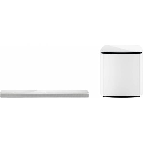 Bose Soundbar 700 + Bass Module 700 Soundbar (Bluetooth, WLAN (WiFi), weiß