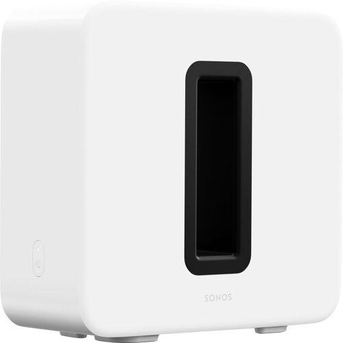 Sonos Sub (Gen3) WLAN- Subwoofer (LAN (Ethernet), WLAN), Glänzendes Weiß